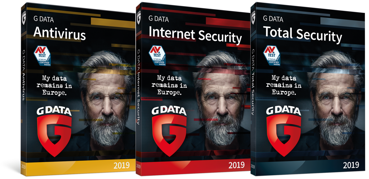 Les solutions de sécurité G DATA 2019 sont disponibles | G DATA