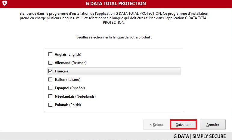TOTALCARE TÉLÉCHARGER G DATA
